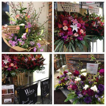 オープン2日目!!沢山のお花をありがとうございます!の画像