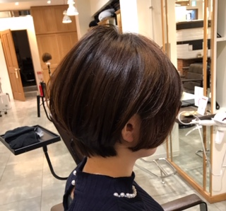 ショートヘア ショートボブ 赤坂美容室