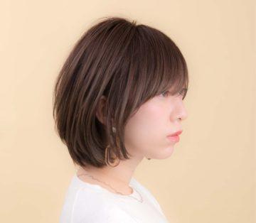 赤坂美容院 ショートヘア ベージュカラー
