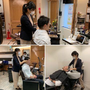 赤坂 美容院 ヘッドスパ 髪質改善 ヘアケア 頭皮ケア
