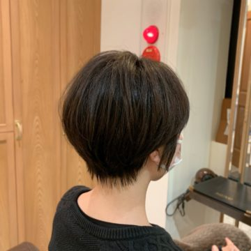赤坂 美容院 ショートヘア カラー トリートメント 艶髪