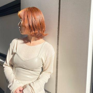 orange brownの画像